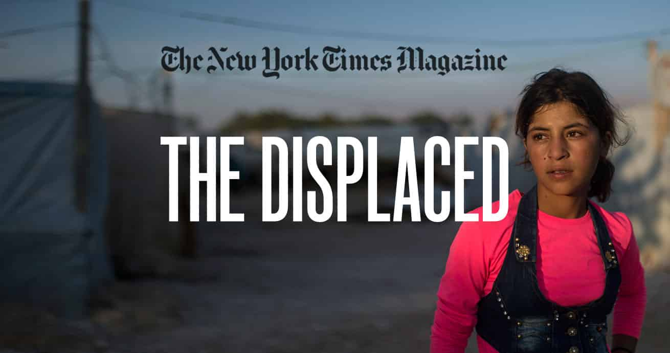 The New York Times VR Film 'The Displaced' Wins the Lions Entertainment Grand Prix